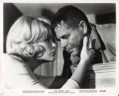 "Elke Sommer-Original Photo-""the Money Trap""-Profile-Glenn Ford"