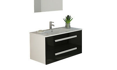 badm bel waschtisch g ste wc 60 cm keramik waschbecken wei hochglanz eur 1 00 picclick de. Black Bedroom Furniture Sets. Home Design Ideas