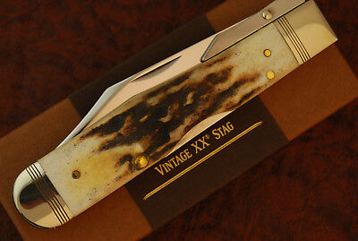 Case Xx Usa 2017 Beautiful Vintage Prime Stag Cheetah Knife 5111 1/2 L Ss (2209)