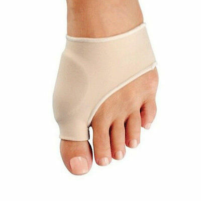 AU NEW One Pair Toe Bunion Protector Sleeve Hallux Valgus Corrector Pain Relief