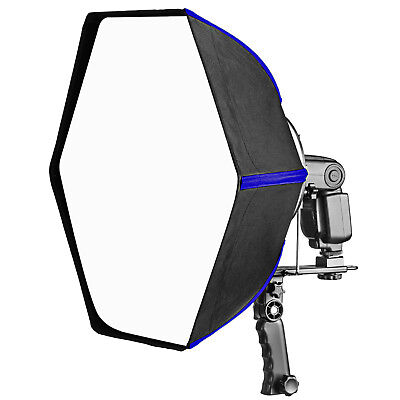 "Neewer Pro 24"" Hexagonal Softbox Collapsible Diffuser for Speedlight Flash"
