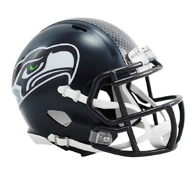 NFL Football Mini Helm Helmet SEATTLE SEAHAWKS Speed Footballhelm