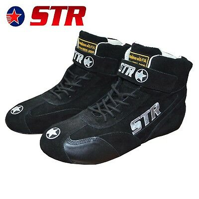 STR Club Race Boots FIA Approved 8856-2000 / Racing / Rally / Ultra High Quality