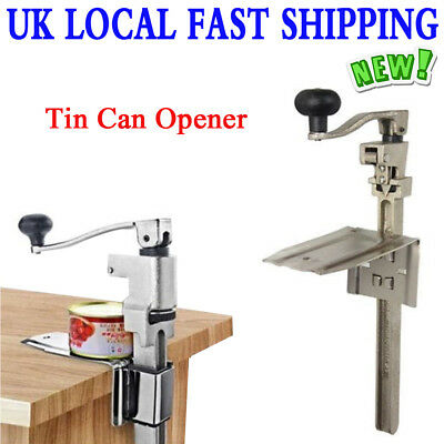 "Heavy Duty 13"" Table Bench Clamp Can/Tin Opener Commercial Kitchen Food Open"