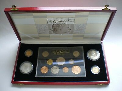 Qeii The Gillick Portrait Collection With 1957 & 1968 Gold Sovereign - Box Coa 4