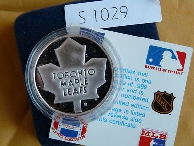 Toronto Maple Leafs Stanley Cup 1893-1993  1 Once Troy Silver Lmt Edition S1029