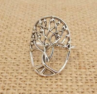 925 Sterling Silver Tree of Life Ring Jewellery