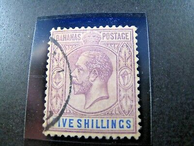 BAHAMAS SCOTT #55 - 1912  VF/USED     (apsB25)