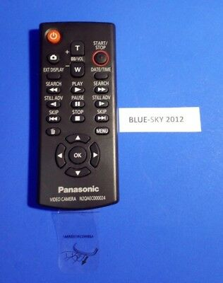 Genuine Panasonic N2QAEC000024 Video Camera Remote Control