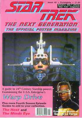 Star Trek Next Generation Official Poster Magazine # 49 (UK, 1993)