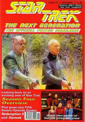 Star Trek Next Generation Official Poster Magazine # 51 (UK, 1993)