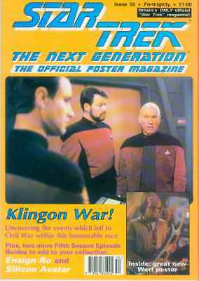 Star Trek Next Generation Official Poster Magazine # 52 (UK, 1993)