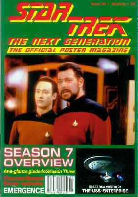 Star Trek Next Generation Official Poster Magazine # 89 (UK, 1995)