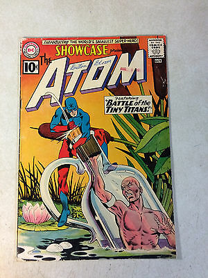 Showcase #34 Key Issue, Origin + 1St Appearance Atom,, 1961, Battle Tiny Titans