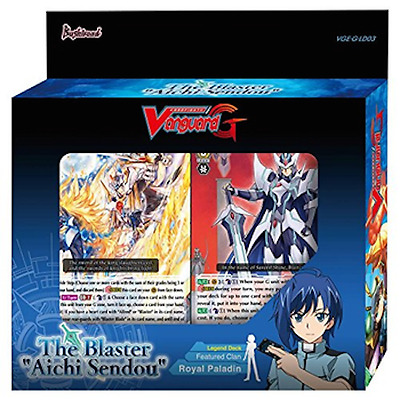 "The Blaster ""Aichi Sendou"" Legend Deck - Cardfight Vanguard - Royal Paladin -NEW"