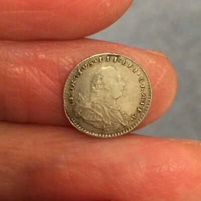 George Iii Silver Penny. Dated 1800.