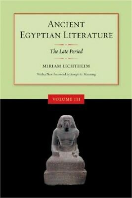 Ancient Egyptian Literature: The Late Period (Paperback or Softback)