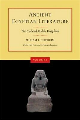 Ancient Egyptian Literature: The Old and Middle Kingdoms (Paperback or Softback)