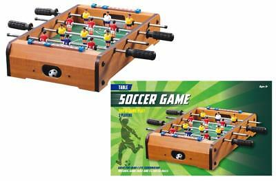Table Top Desktop FOOSBALL Game Toy Boxed Soccer Xmas Gift 50cm Size NEW