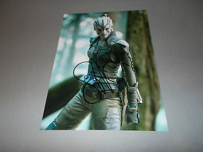 Sofia Boutella Star Trek  signed signiert Autogramm auf 20x28 Foto in person