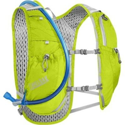 CamelBak 1.5L Circuit Running Hydration Vest Lime/Silver Crux Reservior