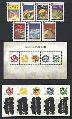 Great Britain 2007 Harry Potter Unmounted Mint,Mnh