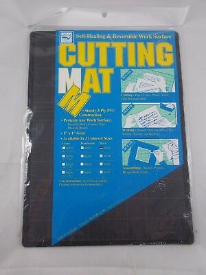 "Loew Cornell Self-Healing Reversible Cutting Mat NEW #70212 8.5"" x 12"""