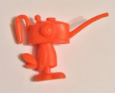 R&l 1969 Cereal Toy ~ Tooly Birds, Oliver Oilcan ~ Orange, Aussie Kelloggs