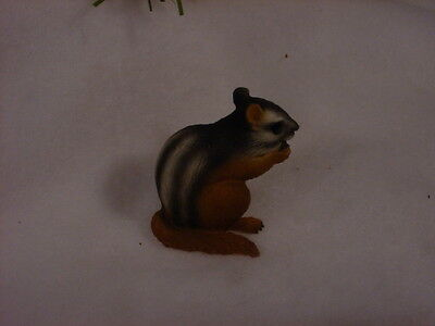 CHIPMUNK TiNY ANIMAL Figurine HAND PAINTED MINIATURE Collectible Mini Statue NEW