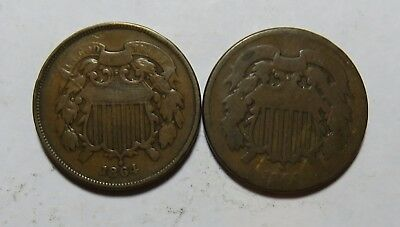 2 1864 Two Cents