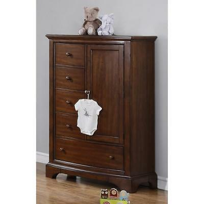 New Bertini Pembrooke Chifforobe - Dark Walnut Model:9248352C