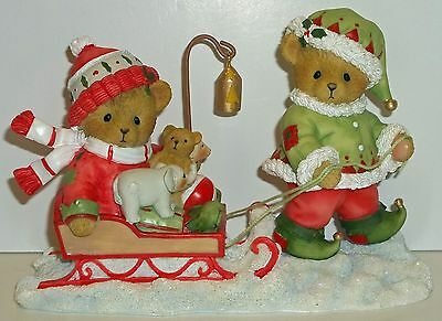 Cherished Teddies Ryan & Eric Figurine NEW # 4047379 # 9 Elves Series You Make