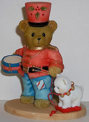 Cherished Teddies Jody Figurine NEW # 4040466 Marching Towards Merry Christmas
