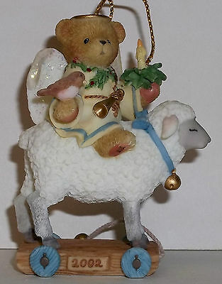 Cherished Teddies May The Spirit Of The Season Ornament NEW # 104777 Abbey 2002