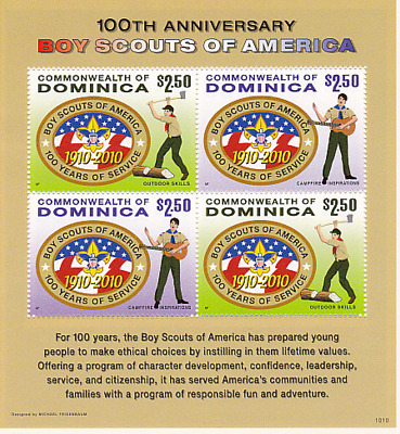 Dominica World Scout Jamboree  100 Years of Scouting  Lot I~