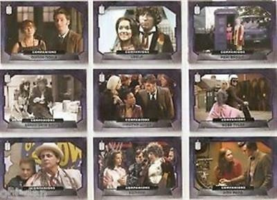 DOCTOR WHO 2015 TOPPS BASE trading card set + 3 INSERTS SETS 230 total