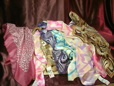 8  Polyester  Mix Color Women scarves Lot