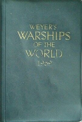 1969 Weyer's Warships Of The World (Over 1500 Illustrations