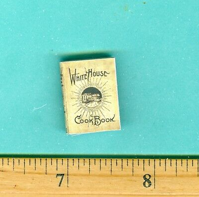 *** SALE*** Dollhouse Miniature Whitehouse Cook Book
