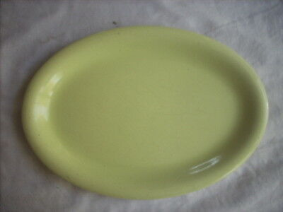 Wembley Ware Oval Shaped Plate With Unusual Colouration