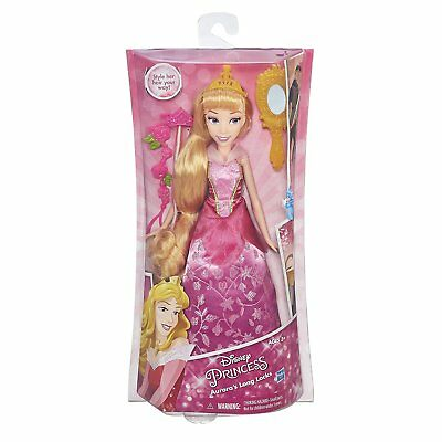 New Hasbro Disney Princess Sleeping Beauty Auroras Long Locks Hair Doll B6907
