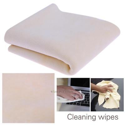 Natural Goat Skin Leather Blend Car Auto Cleaning Towels Drying Washing Cloth