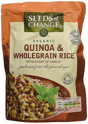 Seeds of Change - Organic Quinoa & Wholegrain Rice - 240g Packs - Various Qty