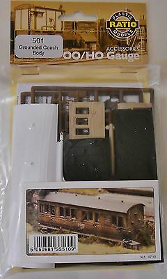 Ratio 501. Grounded Coach Body - Plastic Kit (00)