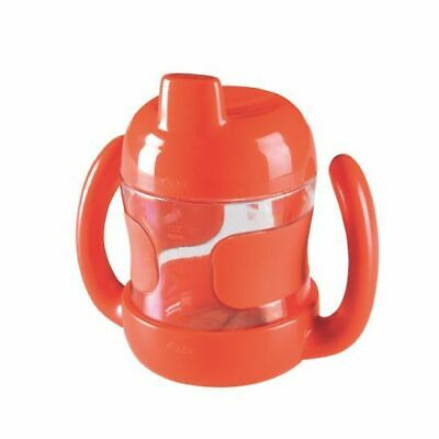 NEW OXO Tot - Sippy Cup with Removable Handles 7oz/200ml - Orange