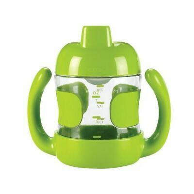 NEW OXO Tot - Sippy Cup with Removable Handles 7oz/200ml - Green