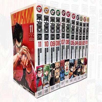 One-Punch Man Volume 1-11 Collection 11 Books Set Children Manga Books Set NEW