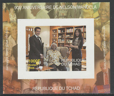 Chad 5623 - 2008 NELSON MANDELA  deluxe sheet unmounted mint