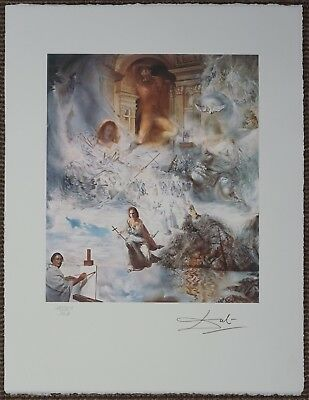Salvador Dali 'The ecumenical counsil' Signed Lithograph Lim. 2000 pcs.