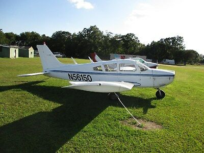 1973 Piper Cherokee 180 Airframe, Stretched Fuselage/extended Wing, 6,646 Tt.  L